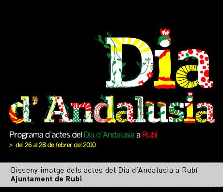 Dia d'Andalusia. Verddisseny