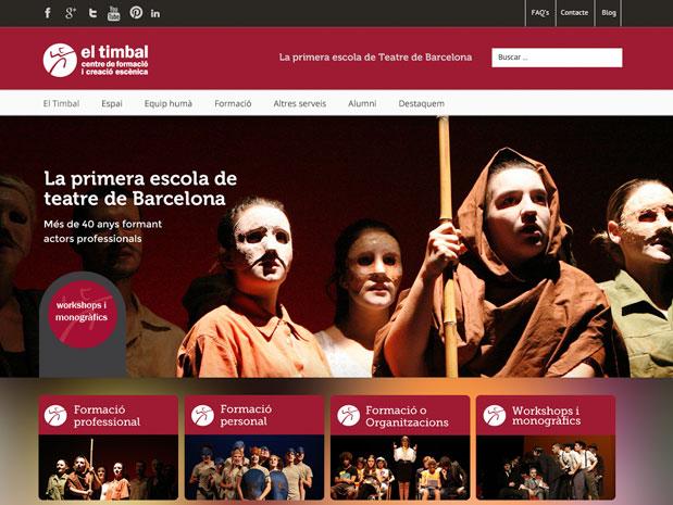 El Timbal, escola de teatre